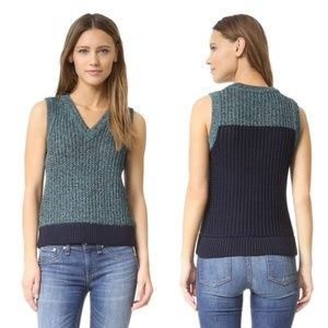 Rag & Bone V-neck, Sleeveless Sweater Vest NWT